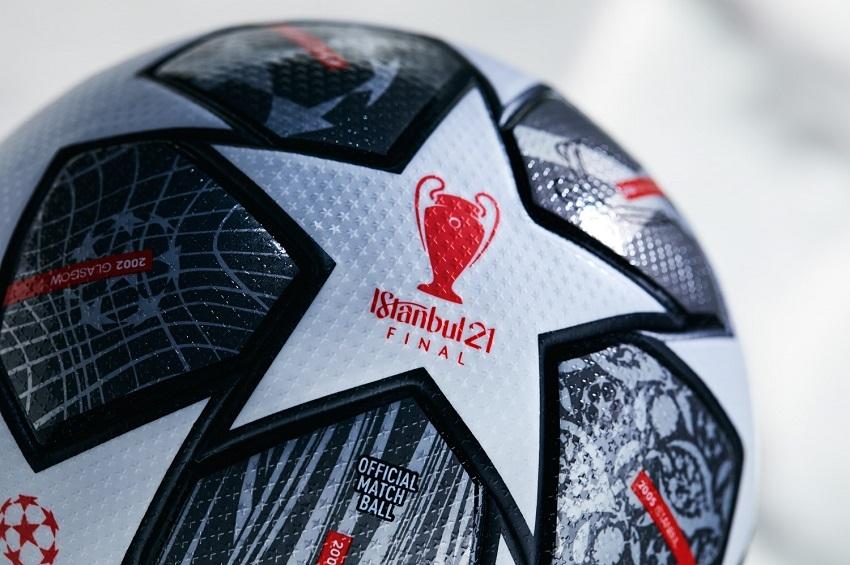 "adidas จับมือ ยูฟ่า เผยโฉมลูกฟุตบอล ""ฟินาเล อิสตันบูล 21"""