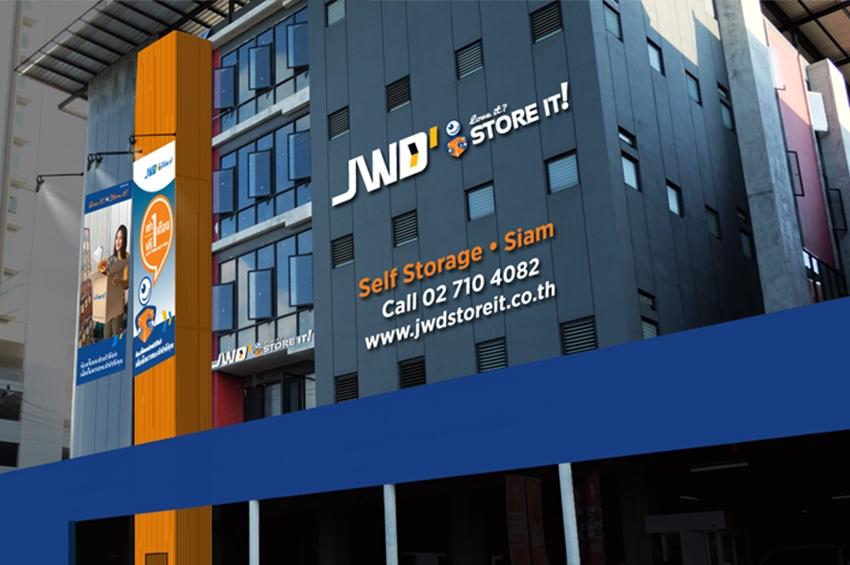 JWD ลุยขยายธุรกิจ ห้องเก็บของส่วนตัวให้เช่า