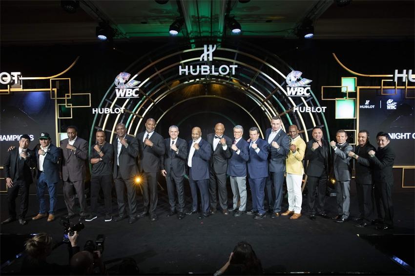 Hublot จับมือ WBC เปิดตัวนาฬิกา Big Bang Unico WBC
