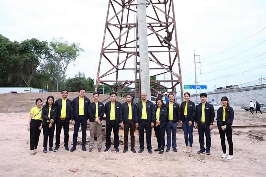 depa บวงสรวงยกเสาเอก อาคารแรก Thailand Digital Valley