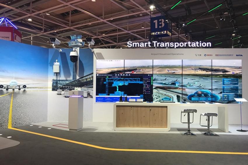 หัวเว่ยนำเสนอโซลูชั่นสร้างสนามบินแบบอัจฉริยะที่มุ่งเน้นอนาคตในงาน HUAWEI CONNECT 2018