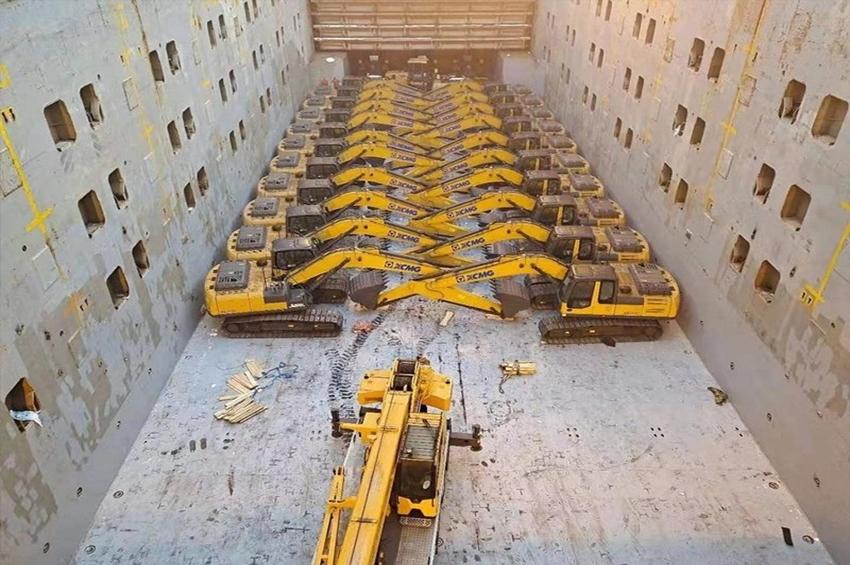 XCMG ส่งมอบเครื่องจักรก่อสร้าง 400 ยูนิตให้ประเทศในโครงการ Belt and Road Initiative