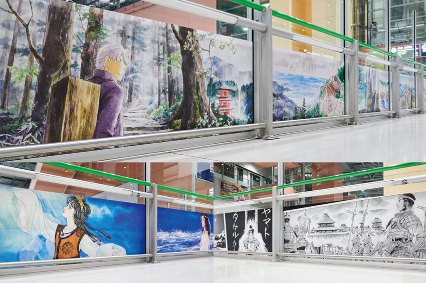 """สนามบินคันไซจัดแสดงผลงานจากศิลปินมังงะ 8 ราย นำเสนอ """"CULTURE GATE to JAPAN"""""""
