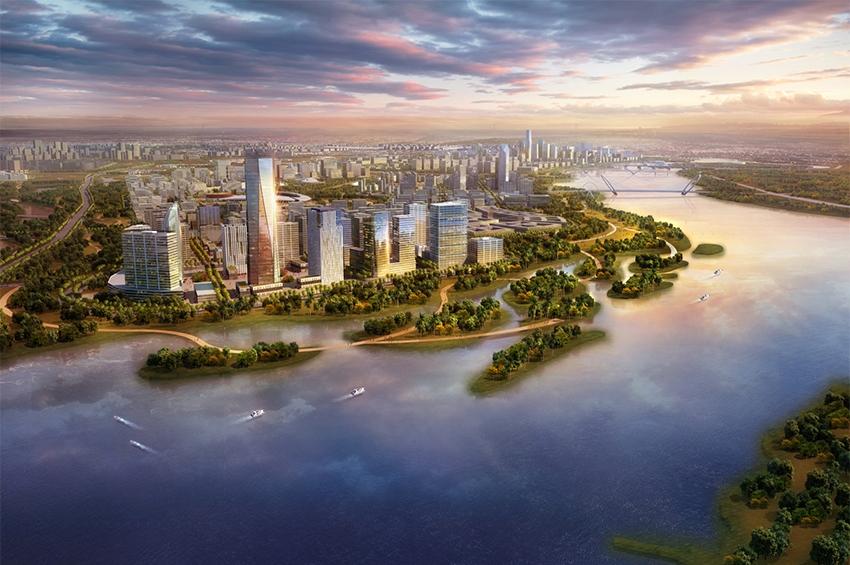 """""""ไหโข่ว"""" แผนพัฒนาเมืองใหม่เจียงตง"""