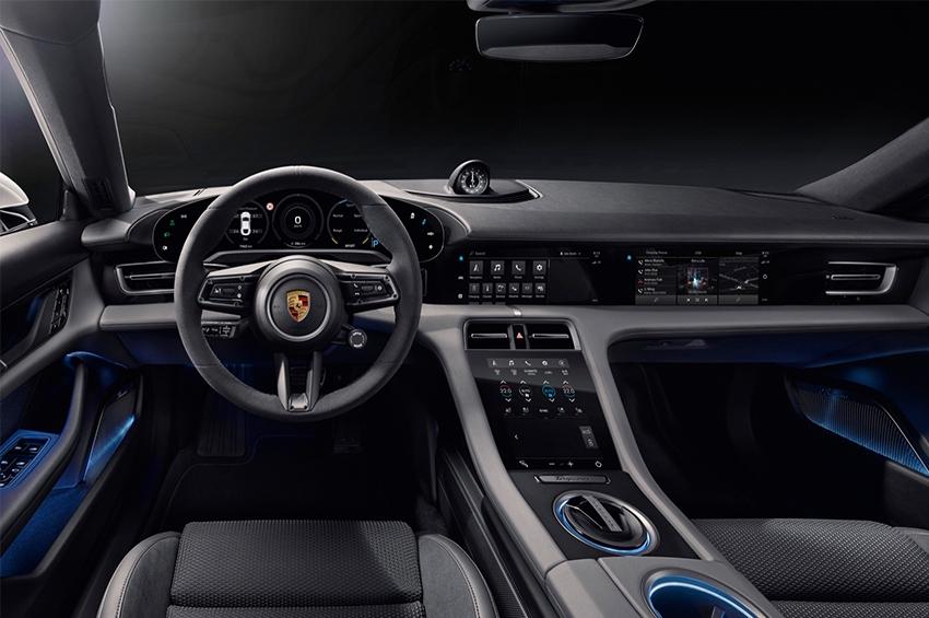 The new Porsche Taycan