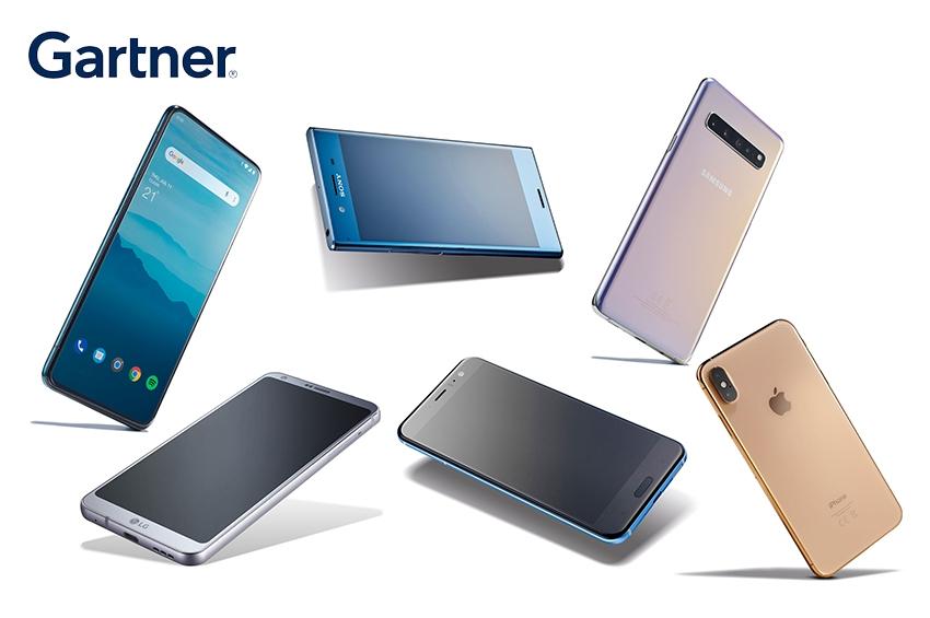Gartner เผยยอดขายสมาร์ทโฟนทั่วโลกไตรมาส 4 ปี 2563 ดิ่งลง 5%