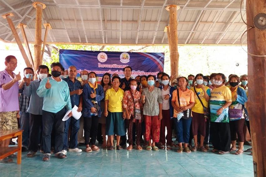 สำนักงานพัฒนาฝีมือแรงงานสุโขทัย ฝึกช่างไม้เมืองคีรีมาศ