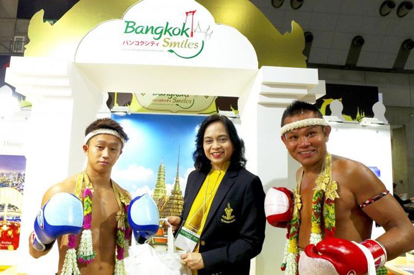 """กรุงเทพมหานคร ร่วมประชาสัมพันธ์ส่งเสริมการท่องเที่ยว และเผยแพร่ศิลปวัฒนธรรมไทยในงาน """"JATA Tourism Expo Japan 2018"""""""