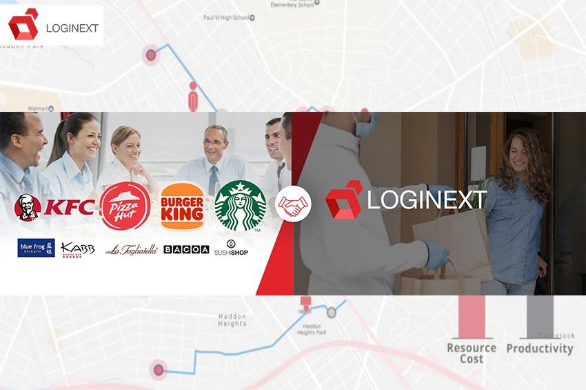 LogiNext จับมือ AmRest ยกระดับบริการเดลิเวอรี่