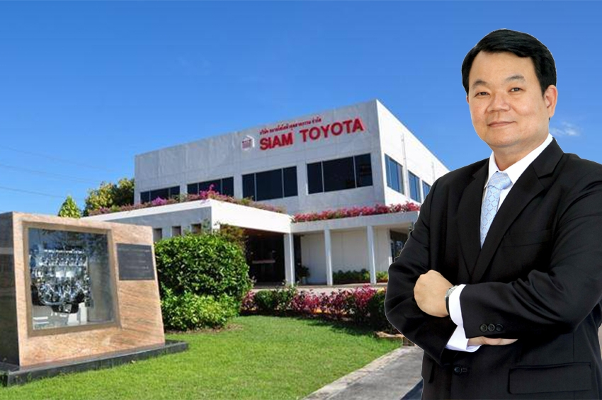 """สยามโตโยต้าอุตสาหกรรม ปรับโครงสร้างองค์กรแต่งตั้ง """"วิรยศ พฤทธากรวงศ์"""" เป็น กรรมการผู้จัดการ ชาวไทยคนแรกของ STM"""