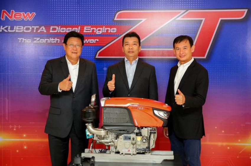 """โฉมใหม่! เครื่องยนต์ดีเซลคูโบต้า รุ่น ZT """"เครื่องยนต์แรง ทนทาน และประหยัด"""""""