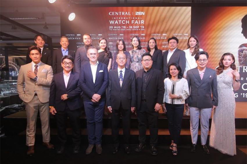 ฟินาเล่สุดตระการตา! ในงาน Central   ZEN International Watch Fair 2019