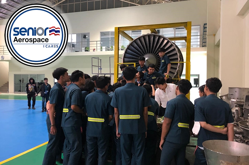 """Senior Aerospace"" increases production lines to supports the ""Sattahip model."""
