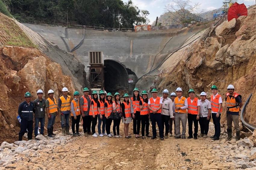 APM เยี่ยมชมโครงการก่อสร้างรถไฟทางคู่สายอิสาน ของ บจก.ไร้ท์ทันเน็ลลิ่ง (RT)