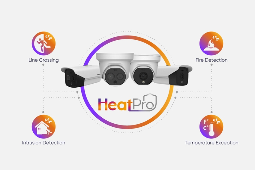 HeatPro Series นำการรักษาความปลอดภัยบริเวณรอบพื้นที่  และการป้องกันอัคคีภัยสู่ตลาด Mass