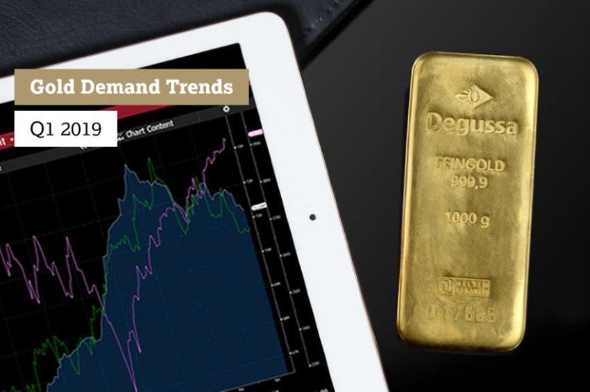 สภาทองคำโลกเผย ความต้องการทองเพิ่มขึ้น 7%