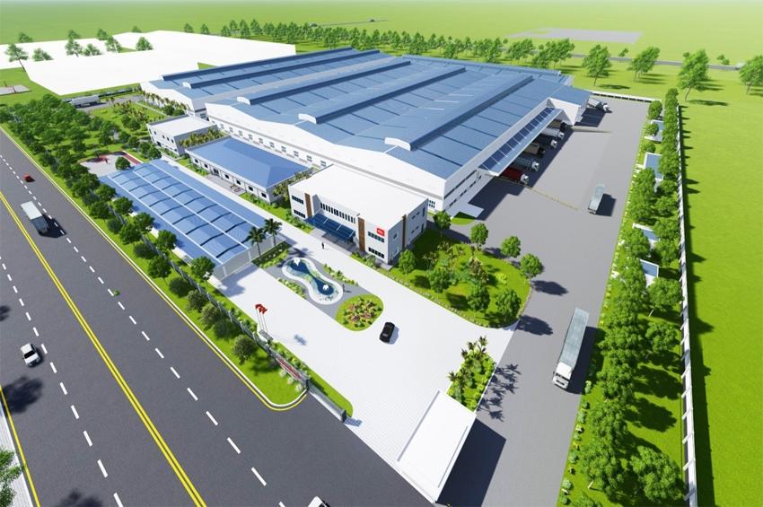 TCL สร้างฐานการผลิตครบวงจรแห่งใหม่ในบิ่ญเซือง เวียดนาม