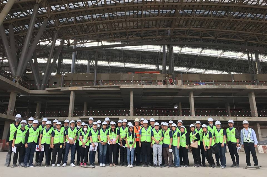 SVL Group เยี่ยมชมการก่อสร้างสถานีกลางบางซื่อ