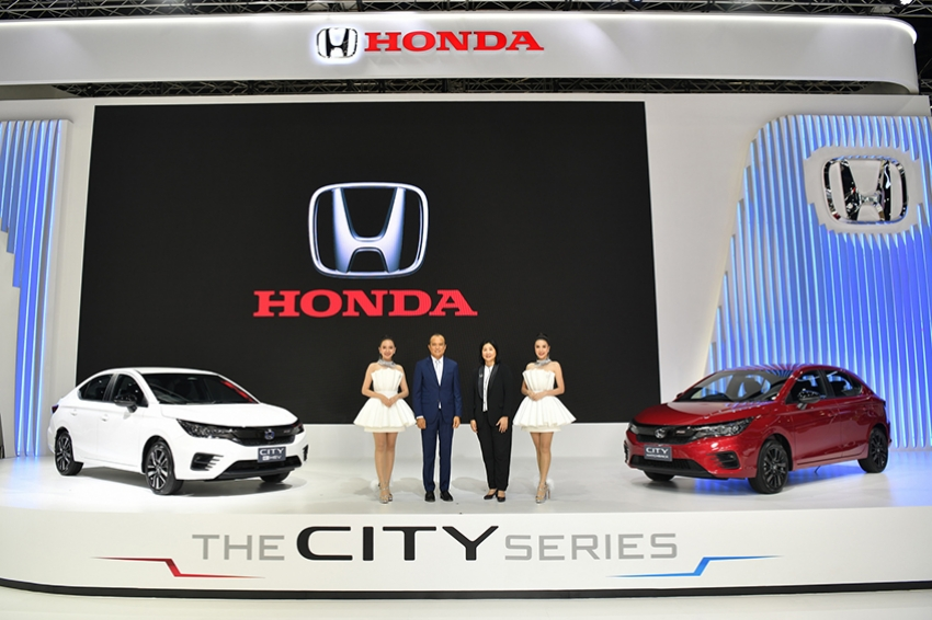"Honda ชู ""The City Series"" นำหลายรุ่น จัดแสดงงาน MOTOR SHOW"