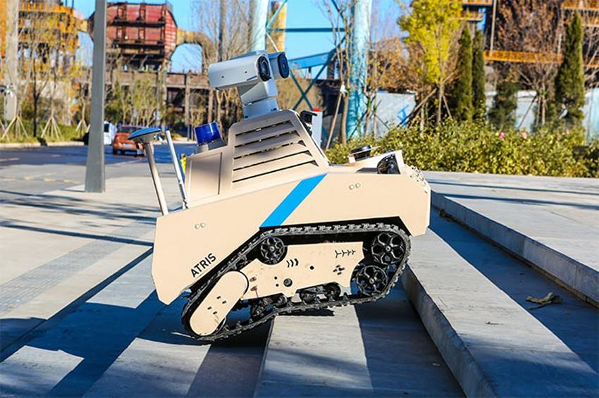 "Shougang Park เลือกใช้ ""ATRIS"" หุ่นยนต์ลาดตระเวนของ UBTech"