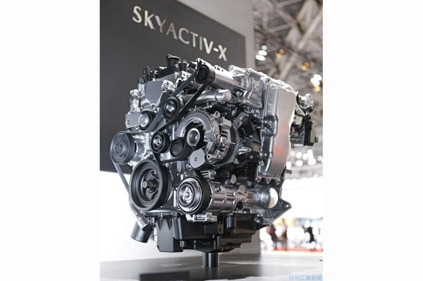 โตเกียวมอเตอร์โชว์ Mazda เปิดตัวเครื่องยนต์เบนซินแห่งอนาคต