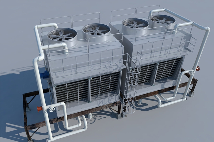 ระบบปรับอากาศ HVAC ในอาคาร