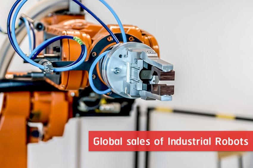 IFR เผย ยอดขายหุ่นยนต์อุตสาหกรรมทั่วโลก พุ่ง 31%