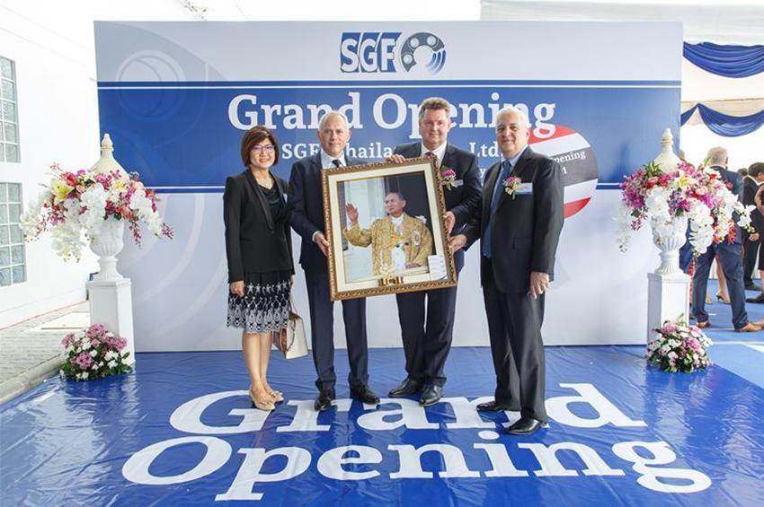 SGF ฉลองพิธีเปิดโรงงานแห่งใหม่