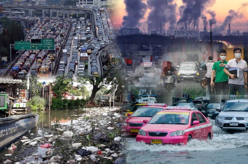 ใช้เทคโนโลยีพัฒนาเมือง จัดการสิ่งแวดล้อมและชุมชน