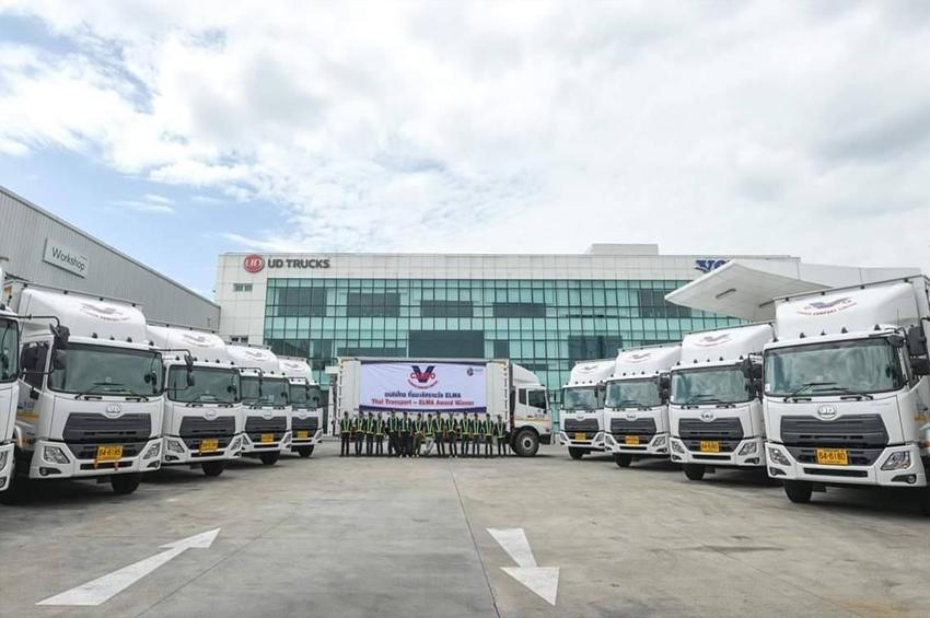V.CARGO รับมอบ UD Trucks croner 16 คัน