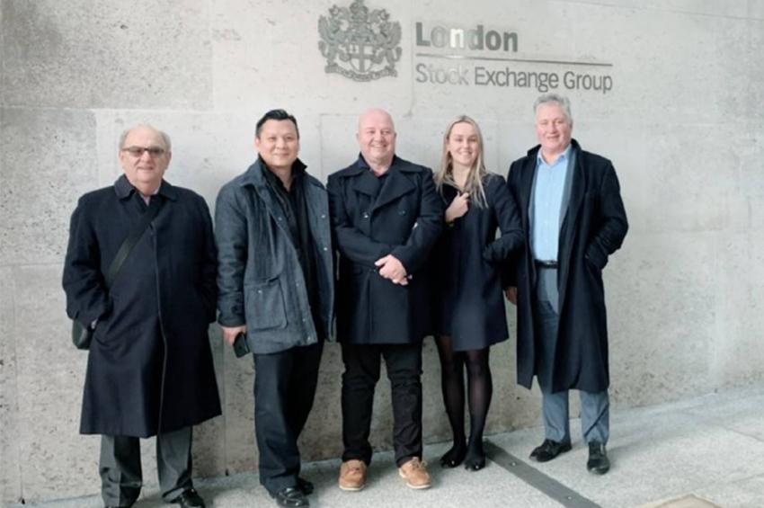 ดร.วรวุฒิ คงศิลป์ ตัวแทน Winton อังกฤษ และ Nominated Advisor เข้าเยี่ยมตลาดหลักทรัพย์ลอนดอน