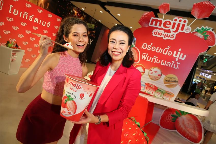 """""""ซีพี-เมจิ"""" เท 470 ล้าน รุกตลาดโยเกิร์ต วางเป้ารวมปีนี้โต 8%"""