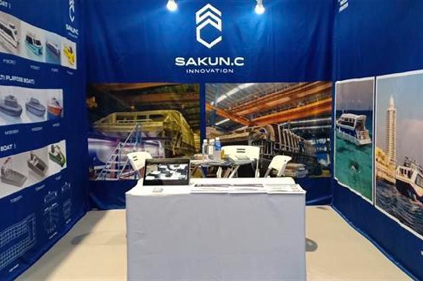 SakunC Innovation โชว์อลูมิเนียมเกรดพรีเมี่ยม ในงาน CIBS